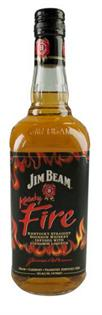 Jim Beam Bourbon Kentucky Fire 750ml